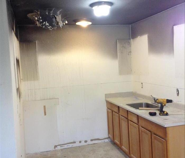 Apartment Kitchen Fire Before