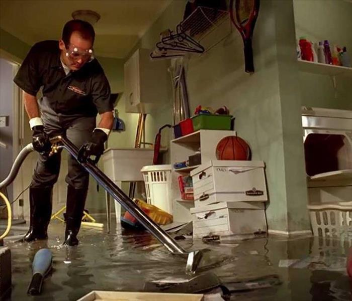 Storm Damage University Place Residents: We Specialize in Flooded Basement Cleanup and Restoration!
