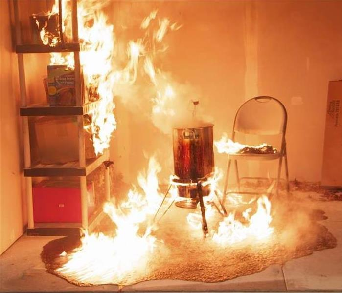 Fire Damage Safety Tips for Using a Turkey Fryer