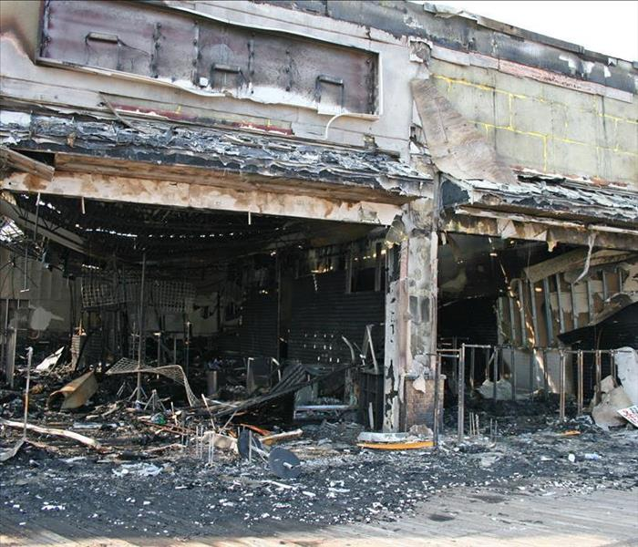Commercial fire image