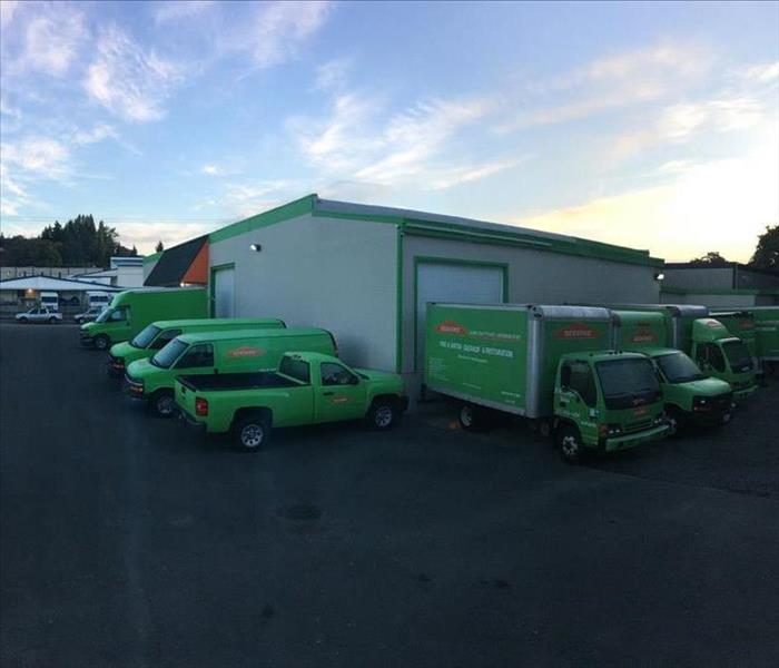 Why SERVPRO SERVPRO® of University Place/Lakewood West is Faster to Any Size Disaster